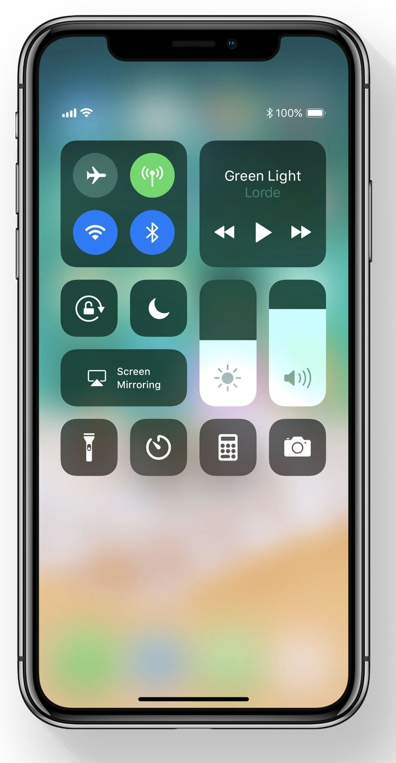 How To Customize The Control Center In Ios 11 Tecnologia Chula