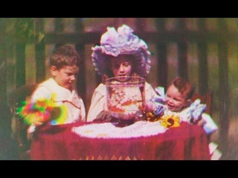 VIDEO: World's Oldest Color Film (1901 or 1902) - Edward Turner - Recently discovered colour movie footage