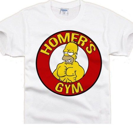 Homer Simpson GYM T-shirt  29.99 Free shipping worldwide  thesimpsons   thesimpsonstappedout  thesimpsonsclips  thesimpsonsmovie  thesimpsonsride  ... 2e5bf482cd90