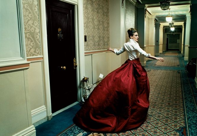 Sarah Jessica Parker Throughout the Years in Vogue Vogue, September 2005 Photographed by Annie Leibovitz