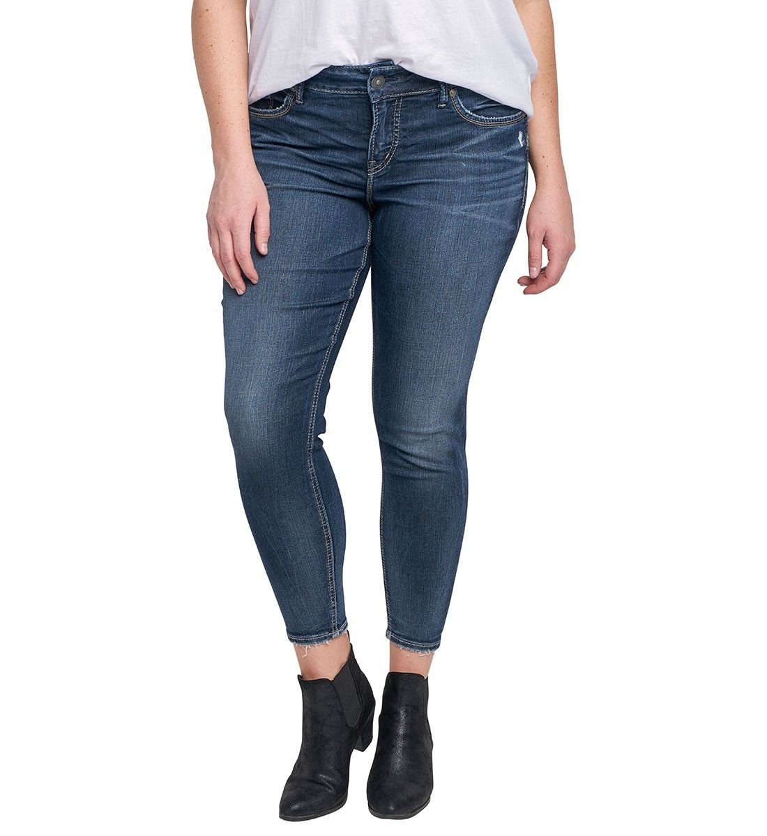 4b97c3f8fbd Plus size Avery Ankle Skinny Jeans - Ideal for those with perfect ...