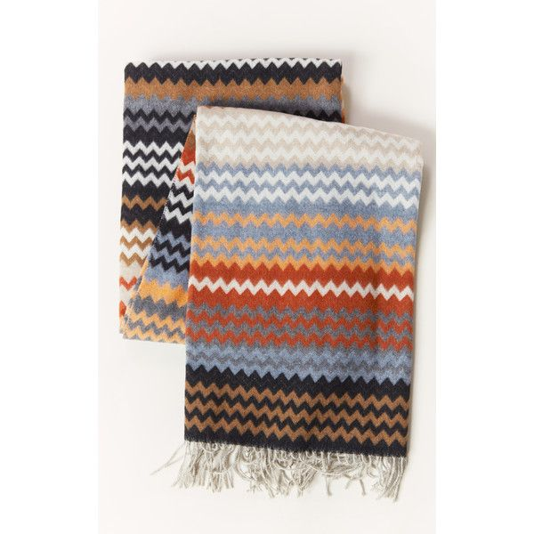 Bohemian Throw Blankets Missoni Humbert Throw €410 ❤ Liked On Polyvore Featuring Home