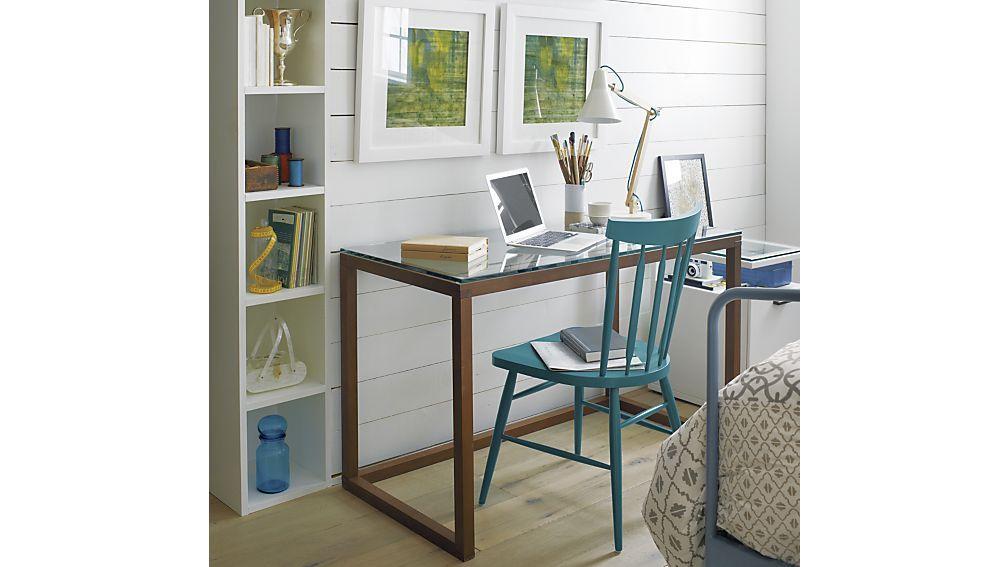 Anderson Desk In Desks Modern Home Office Desk Guest Room Office Side Chairs