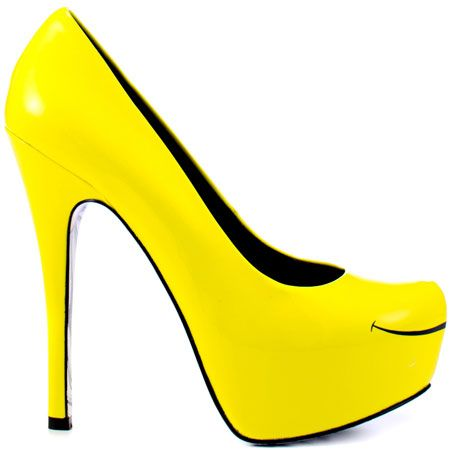 Happy shoes <3 <3 <3 Smiles - Yellow by Taylor Says