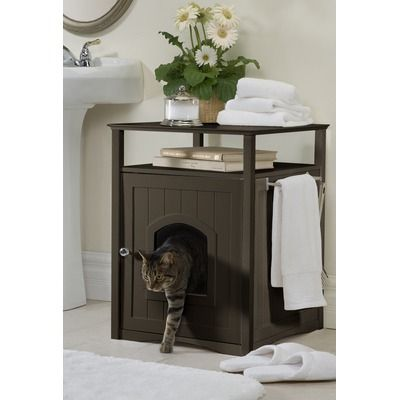Merry Products Washroom Pet House and Litter Box