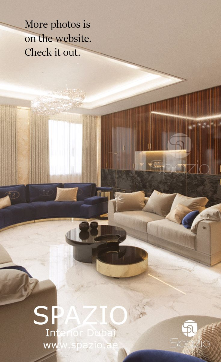Luxury living room interior design and decor. Get inspiration and ...