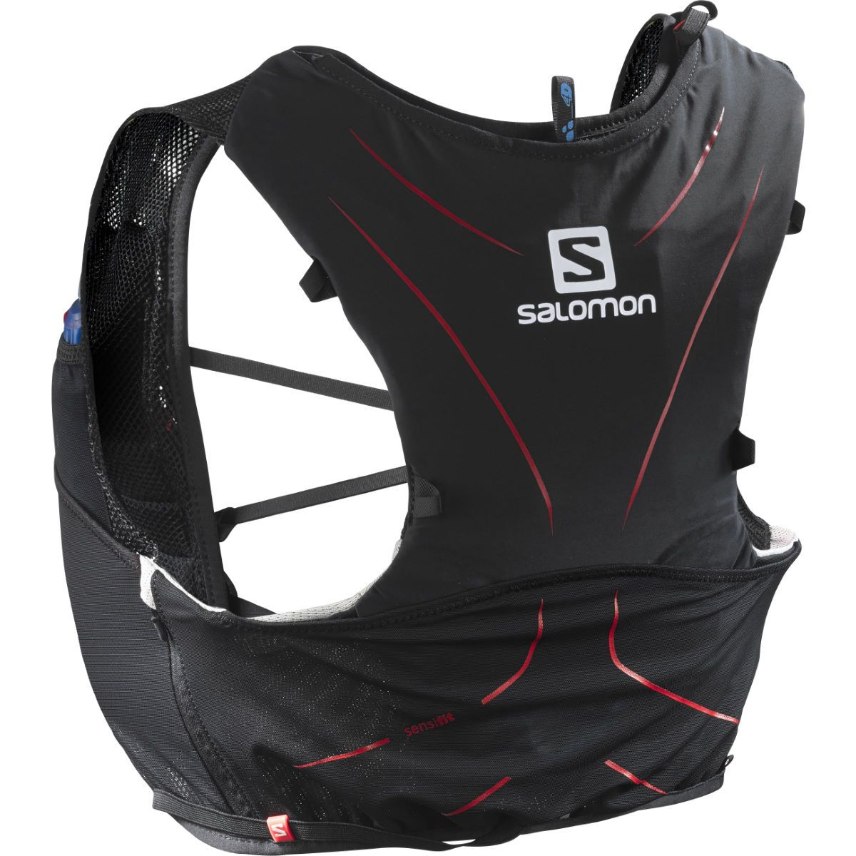 Salomon Adv Skin 5 Set Black Red 2xs Hydration Systems Running Vest Running Clothes Hydration Pack