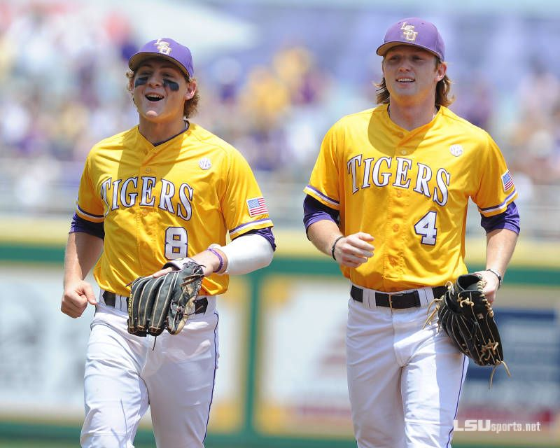 Lsu Baseball Vs Ole Miss Game 3 Senior Day Mason Katz And Raph Rhymes A Dynamic Duo For The Tigers Lsu Tigers Baseball Lsu Baseball Lsu Tigers
