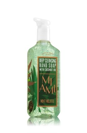Miami Mint Mojito Deep Cleansing Hand Soap With Coconut Oil Bath
