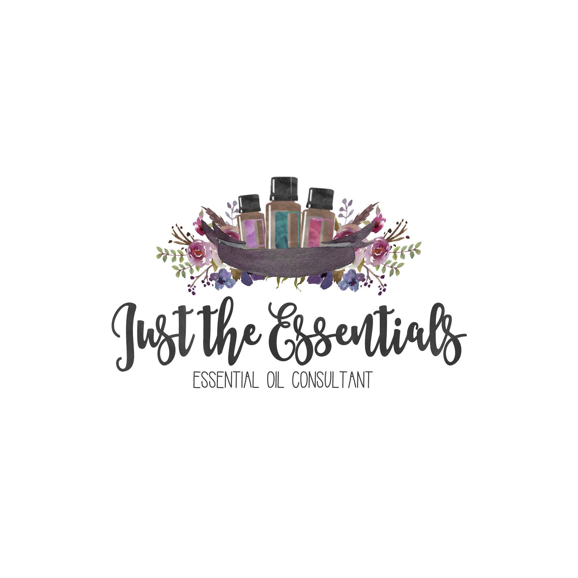 Essential Oil Logo Consultant Business Branding