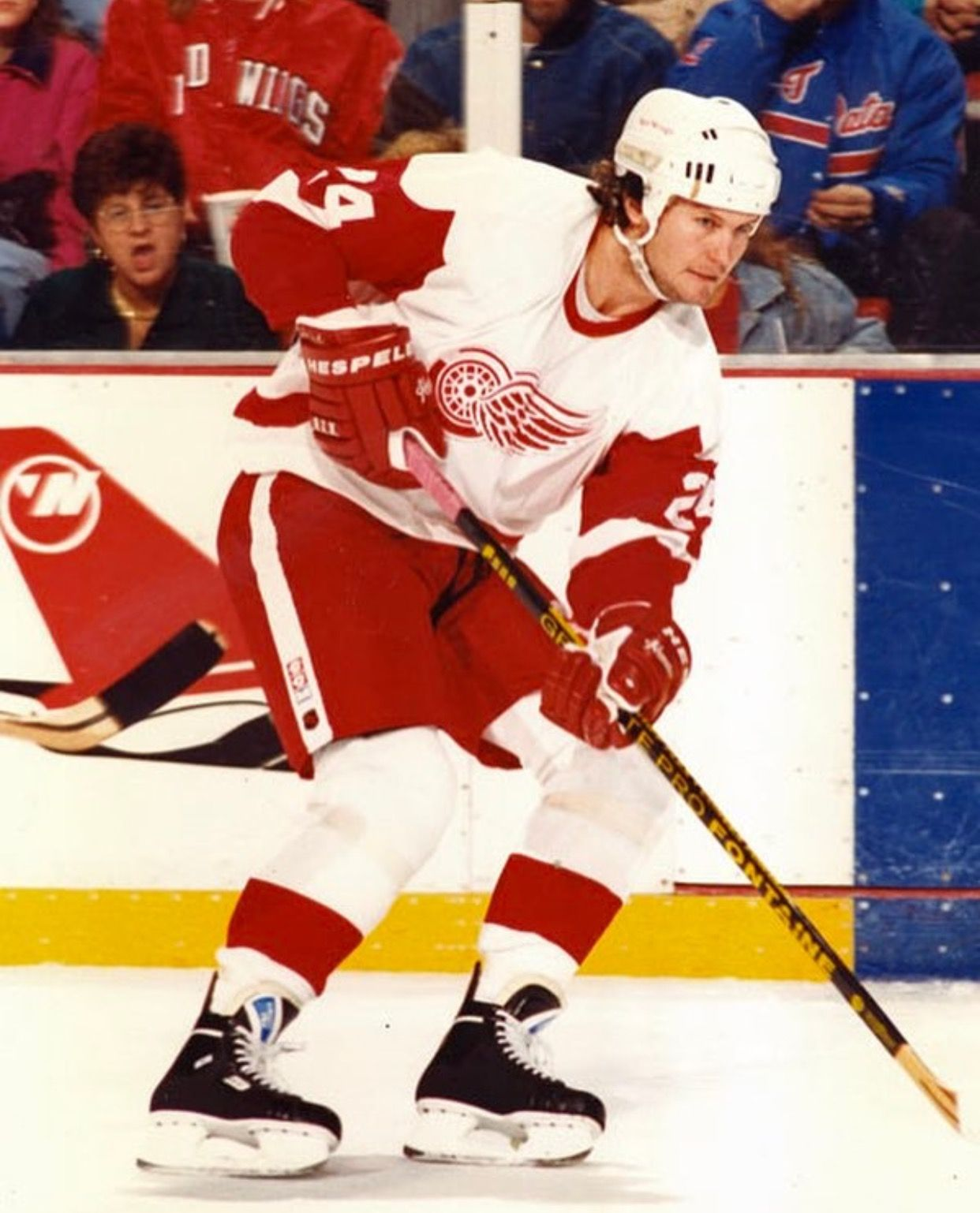 Bob Probert Detroit red wings, Red wings hockey, Detroit