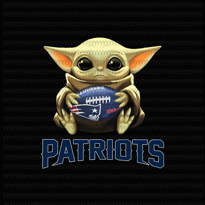 Baby Yoda New England Patriots New England Patriots Logo New England Patriots Vector Baby Yoda Png Star Wars Png The Mandalorian The Child Png Jpg File T Yoda Png New England