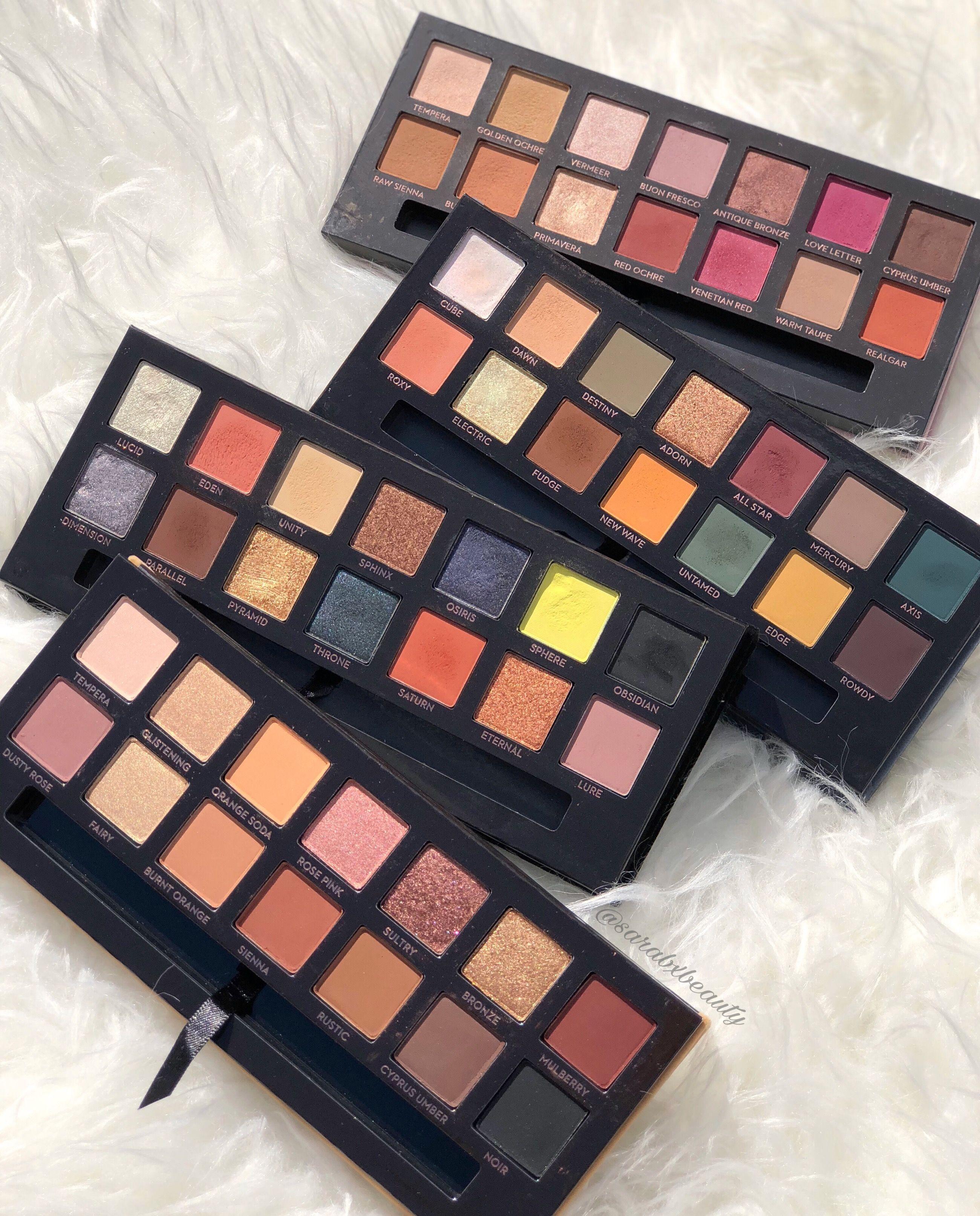 Anastasia Beverly Hills Palettes Insta Sarabxbeauty Makeup Lover Eye Makeup Sephora Makeup
