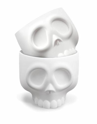 Nom Skulls Brain Cupcake Molds