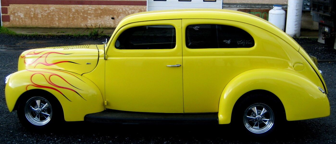Ford Other 2 Door Sedan Street Rod 1940 Ford Hot Rods Cars 1940 Ford Coupe