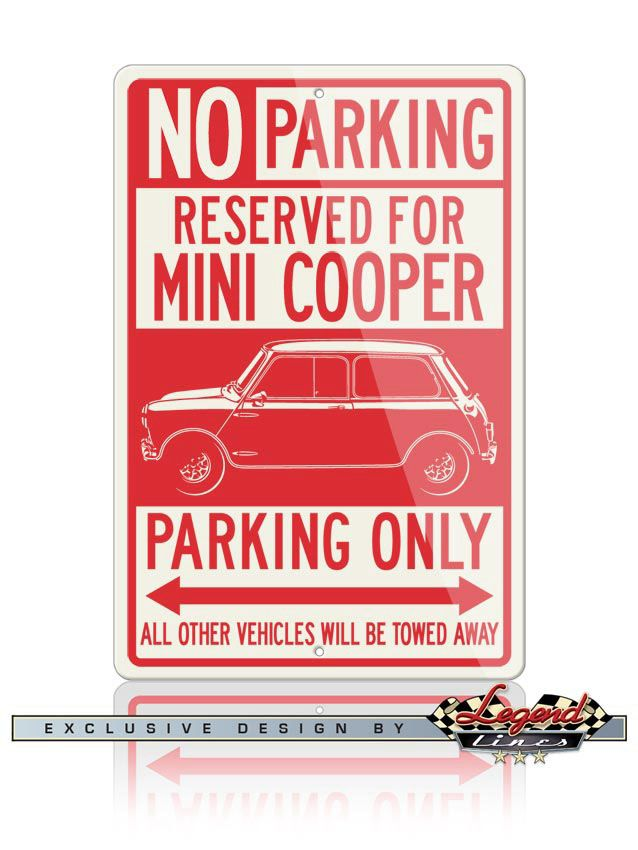 VW Bus Parking Only Aluminum Sign Parking only New