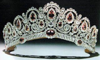 Marie Poutine's Jewels & Royals: Colorful Tiaras