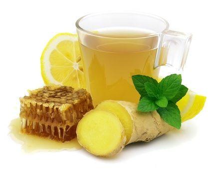 """Mantenha sua saúde no inverno, pratique hábitos saudáveis. Adquira o habito de tomar chá, os seus benefícios terapêuticos são comprovados desde a antiguidade, quando nossas avós já cuidavam da saúde da família com os """"chazinhos caseiros"""" . Meu chá favorito para a estação do outono é a mistura de Limão, Gengibre e Mel,"""