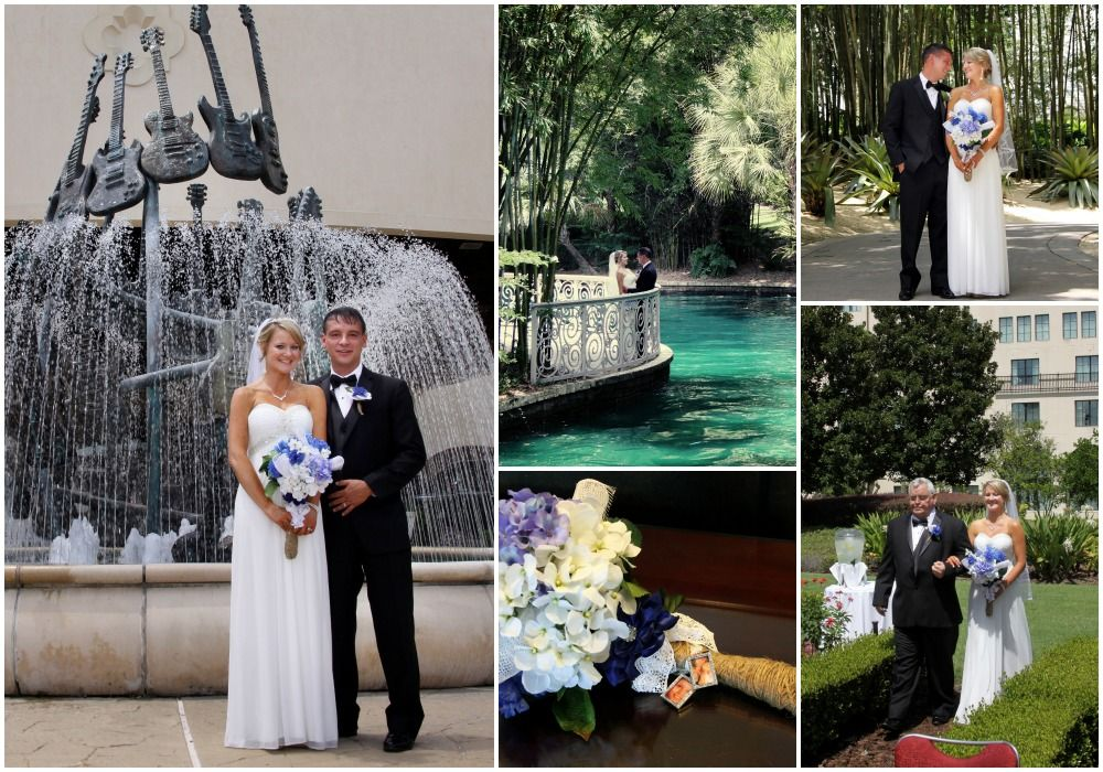 Loews Hard Rock Hotel Orlando Destination Wedding JustMarry