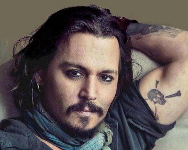 Tatuaje Calavera Johnny Depp tatuaje calavera johnny depp ••▷ sfb