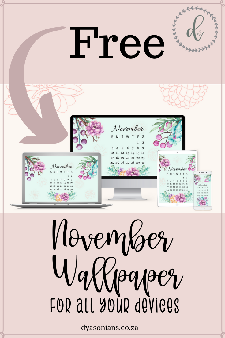 Free Wallpaper | November 2019 | Device Wallpaper | November Calendar #hellonovemberwallpaper
