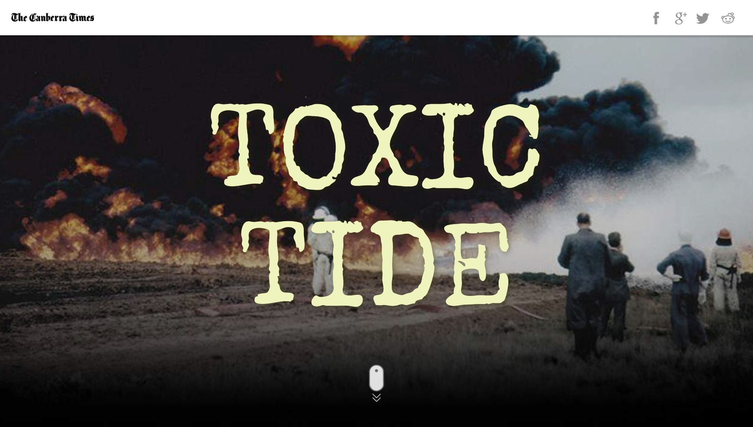 Toxic Tide, The Canberra Times Tide, Weather, Canberra