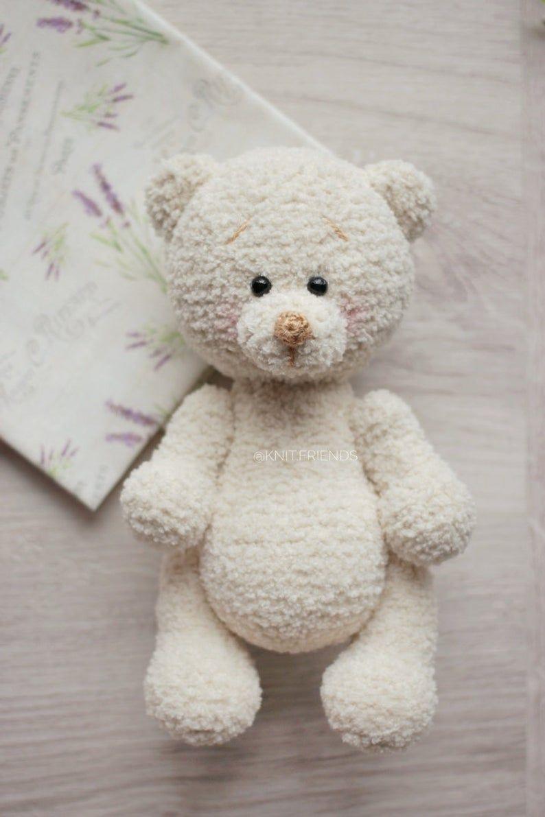 Amigurumi Crochet Teddy Bear (Sevimli Ayı) Pattern Yapılışı ... | 1191x794