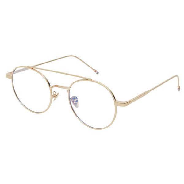 See-Through Aviator Glasses ($24) ❤ liked on Polyvore featuring ...