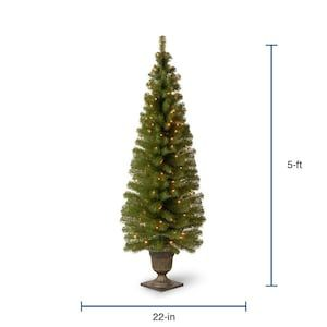 National Tree Company 6-ft Pre-Lit Spruce Artificial ...