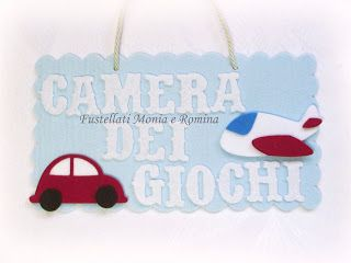 Loghi Bambini ~ Cornice decorazione cameretta bambini tema giocattoli automobile