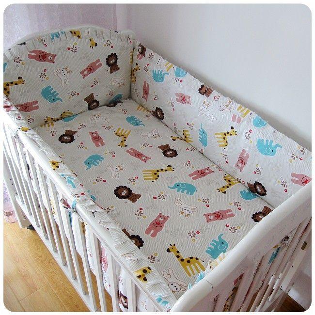 Beförderung 6 Stücke Babybett Bettwäsche Sets Junge