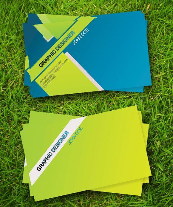 25 Cartões de visita com a temática sustentável verde   Criatives   Blog Design, Inspirações, Tutoriais, Web Design