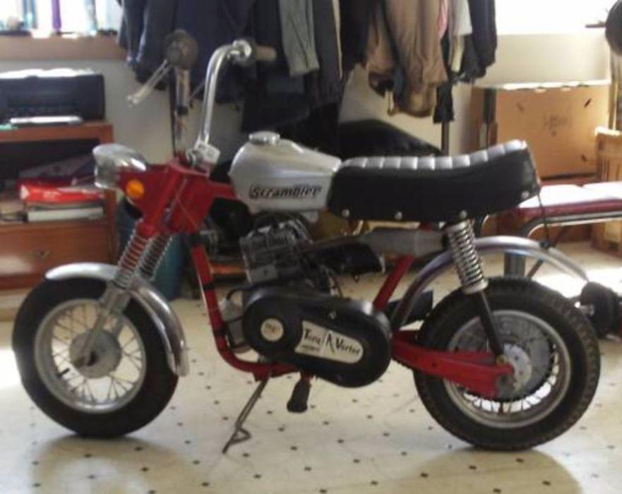 Resto Mini 1970 Rupp Scrambler Mini Bike Scrambler Bobber Motorcycle