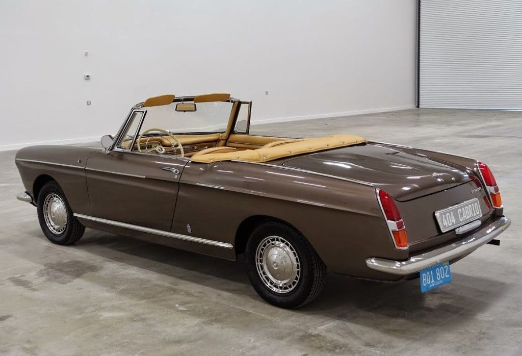 1966 Peugeot 404 Cabriolet Maintenance/restoration of old/vintage ...