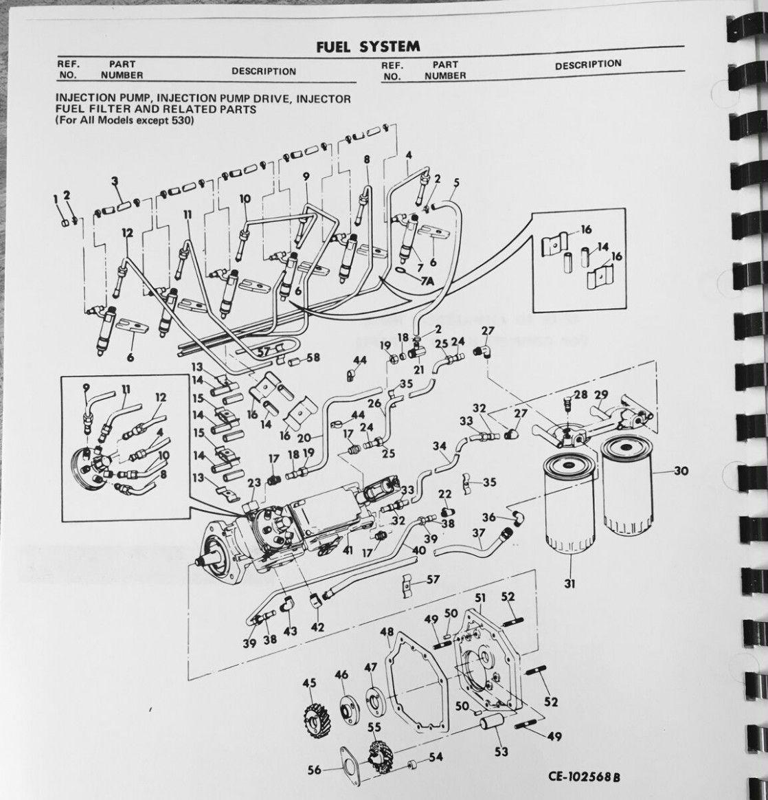Dt6 Engine Diagram List