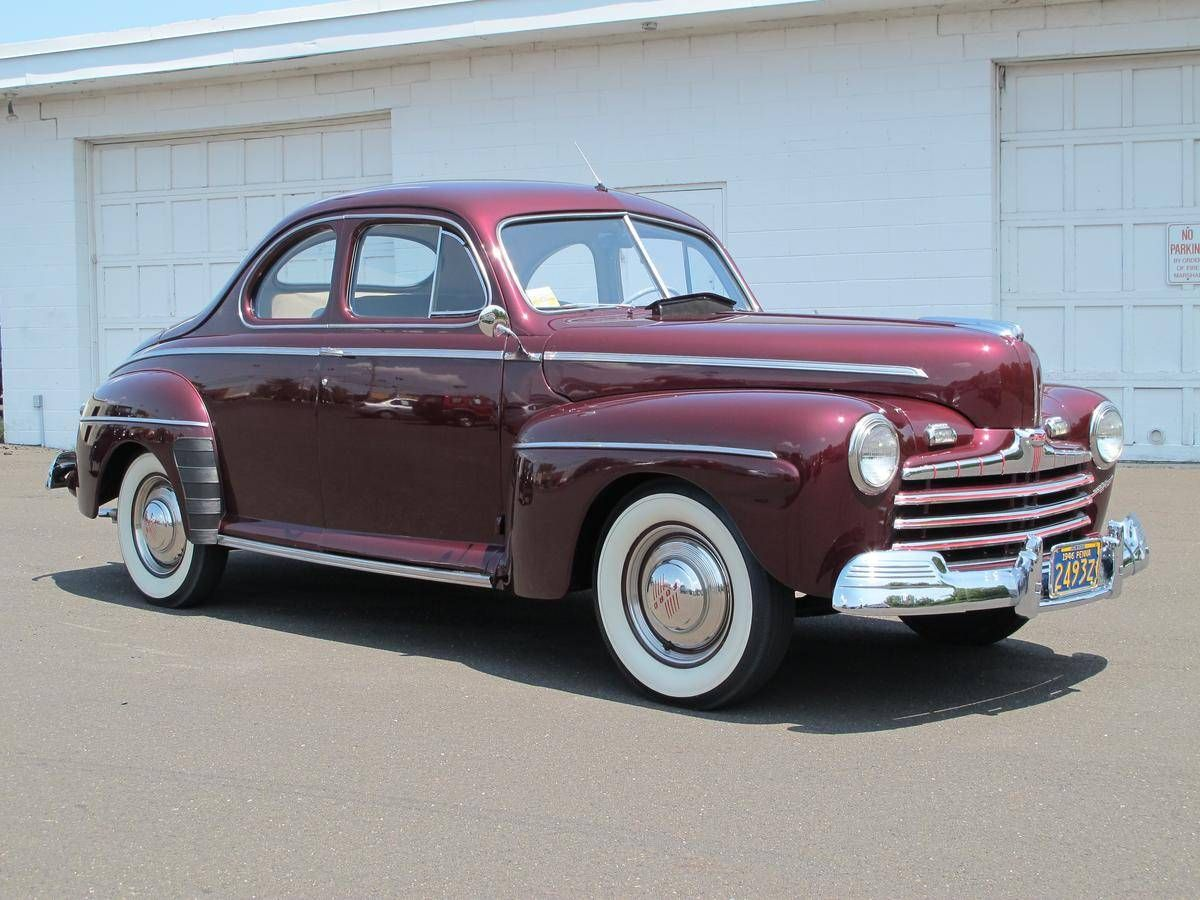 1946 Ford Super Deluxe Business Coupe Maintenance/restoration of old ...