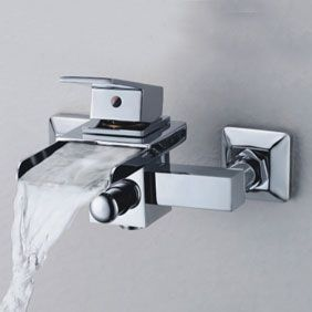 Contemporary Waterfall Tub Tap - Wall Mount T0510W //www.mytap ... on one hole sink faucet, single handle utility faucet, vintage bridge kitchen faucet, copper kitchen sink faucet, single handle outdoor faucet, single handle wall faucet, pull down kitchen faucet, single handle bar faucet, single faucets for bathroom sink, single bathroom vanities and cabinets, american standard mop sink faucet, best brand of kitchen faucet, oil rubbed bronze kitchen sink faucet, shampoo sink faucet, single handle vessel faucet, single handle shower, single handle ceramic disc cartridge, master plumber brand kitchen faucet, danze sirius faucet, single handle faucet repair,
