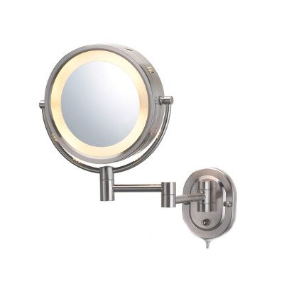 For Master Bath 85 00 Jerdon Lighted 5x Magnifying Hard Wired
