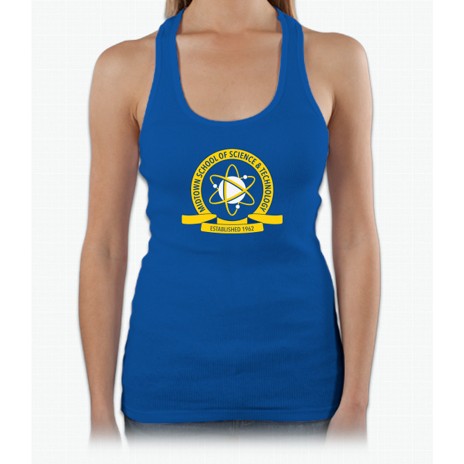 4d2760223 Midtown School of Science and Technology Logo Womens Tank Top ...