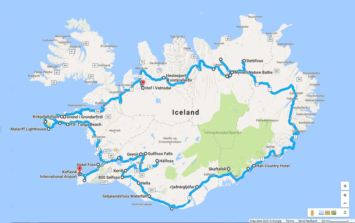 Around The Road In 8 Days Iceland Ring Road Itinerary