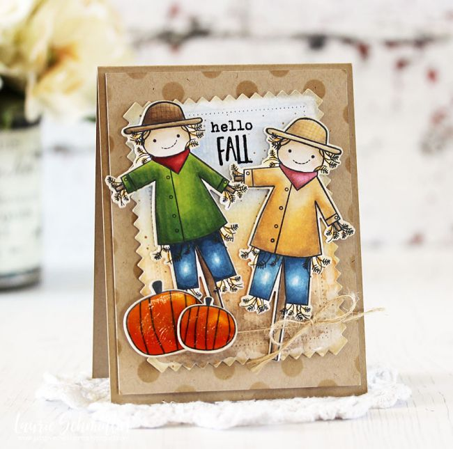Merveilleux Hello Fall Card By Laurie Schmidlin For Papertrey Ink (August 2017)