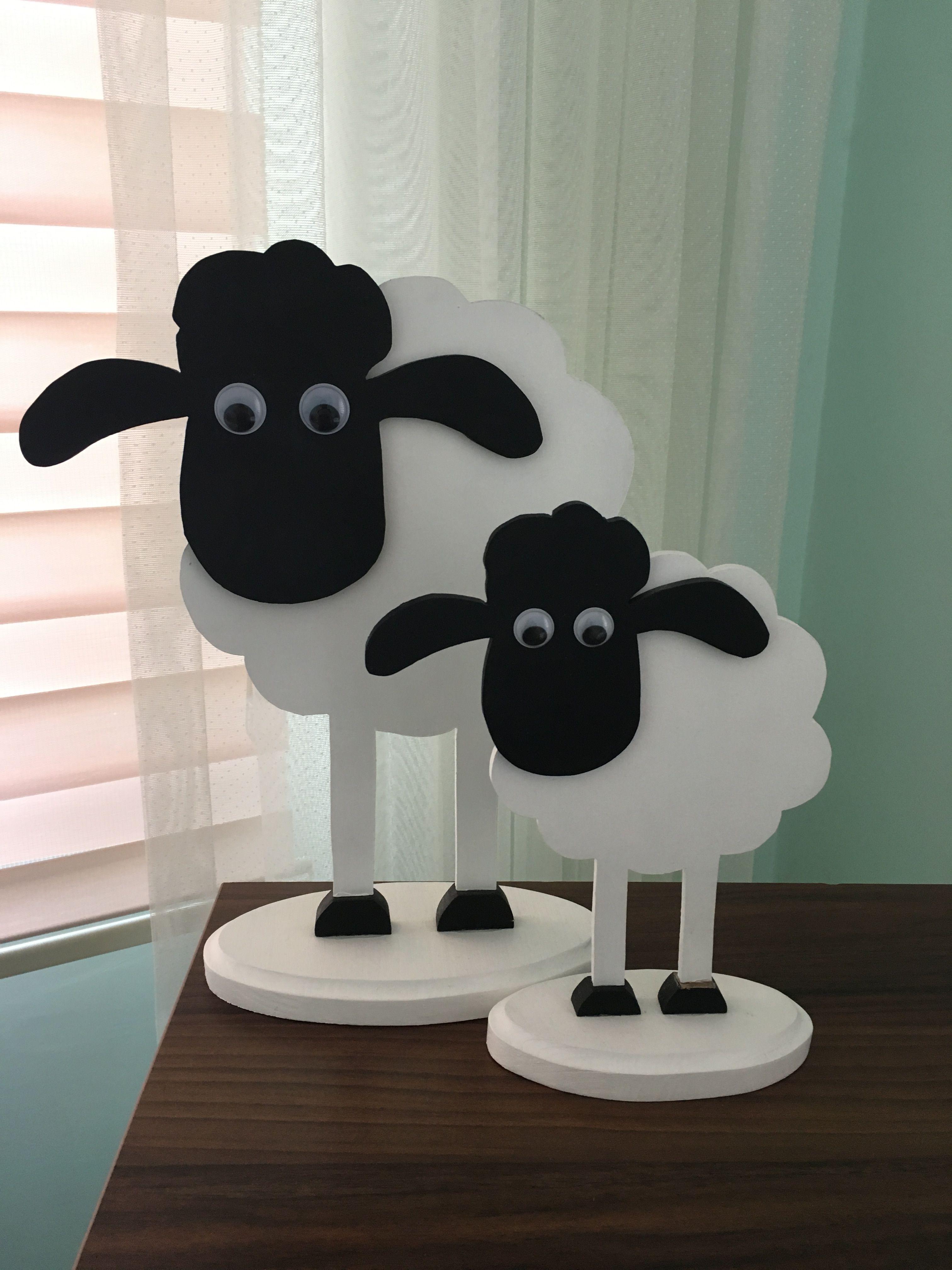 Ahsap Kuzu Holz Schaf Wooden Sheep Schafe Schafe Basteln Holz Drechseln