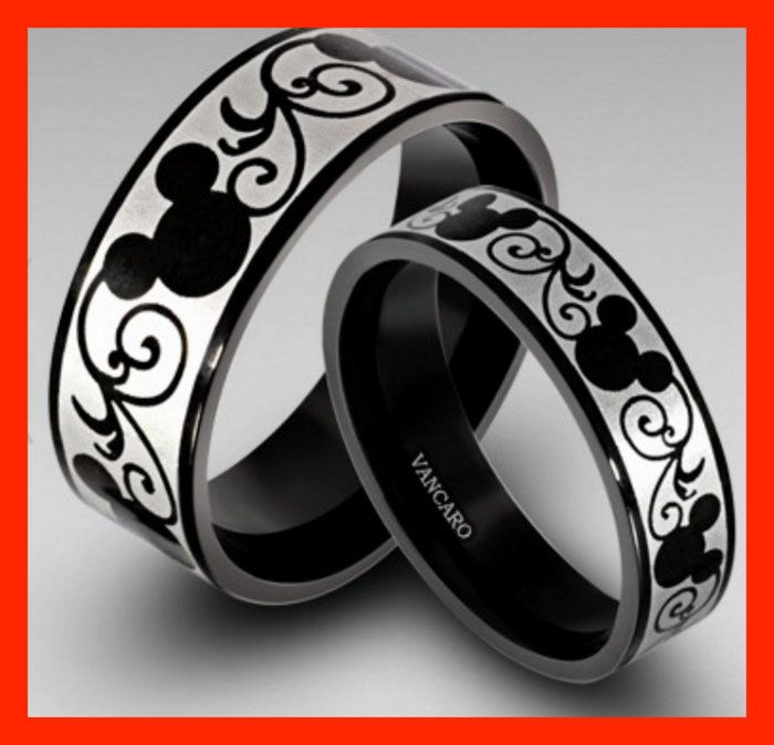 Look At These Where To Find Anium Disney Inspired His Hers Rings