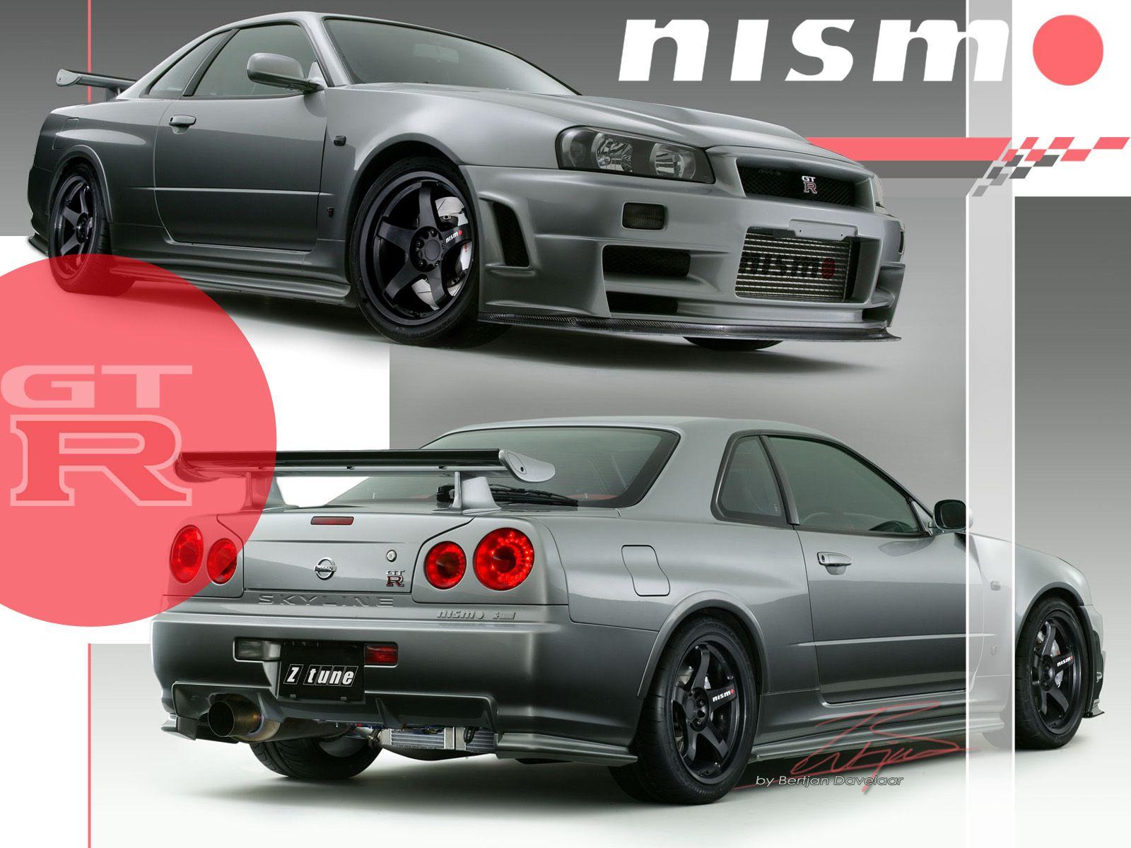 Nissan nismo skyline r34 z tune