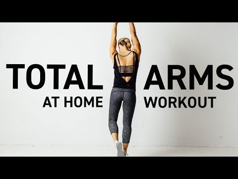 total arm workout from home // tone sculpt  define