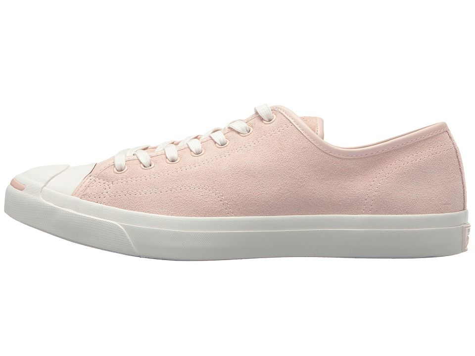 7f3792777469 Converse Jack Purcell(r) Jack Suede Ox Classic Shoes Dusk Pink Natural