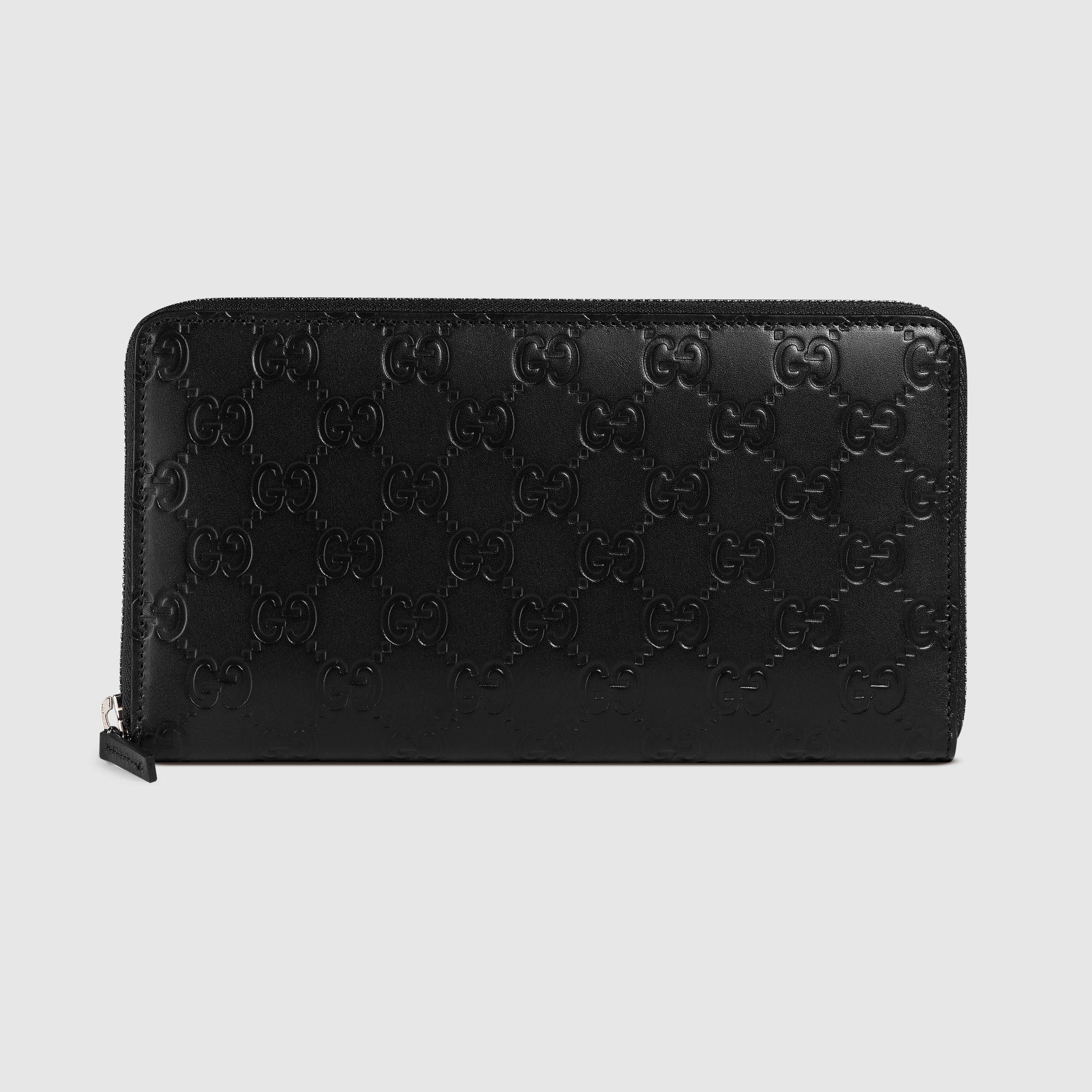 2b5562e3feb Gucci Signature continental wallet - Gucci Men s Zip Around 233194CWC1N1000