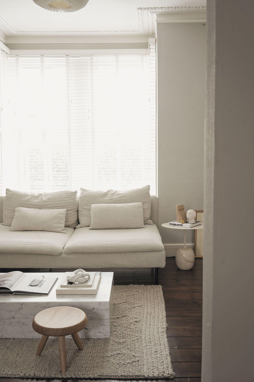 Bemz cover in Natural Brera Lino Linen for IKEA Sö