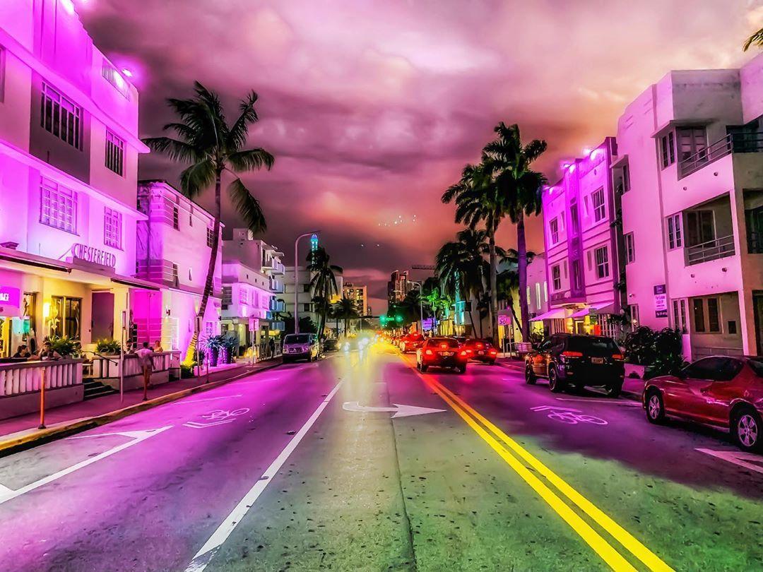 Because We Were Made To Glow Nightsky Night Miami