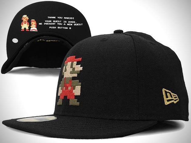 promo code 1b7ad 13c69 Super Mario Bros New Era Fitted Hat Collection